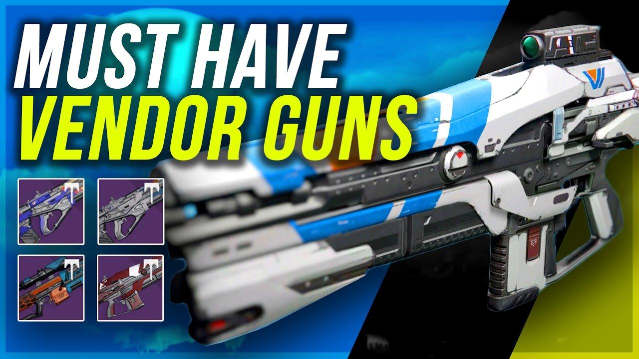 destiny: new vendor gun perks - age of triumph week 1 | best new