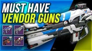 DESTINY: Must Have New Vendor Guns - Age of Triumph Week 1   Best New Vendor Weapons