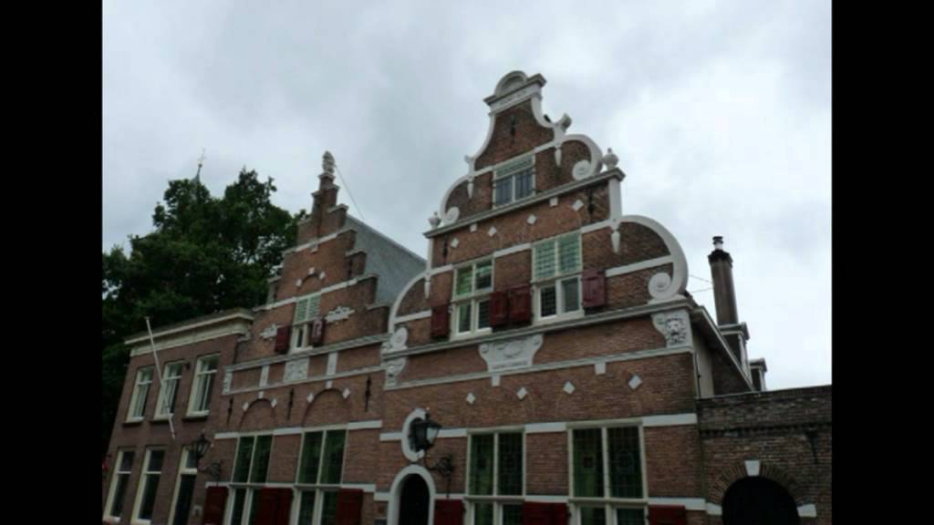 Typical Dutch Old Houses And Crow Stepped Gables Oude Nederlandse Huizen Met Trapgevels Youtube