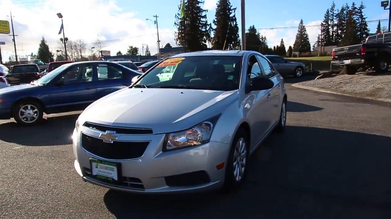 Cruze 2010 chevrolet cruze mpg : 2011 Chevrolet Cruze LS 1.8L 4-Cyl *~*38 MPG*~* - YouTube