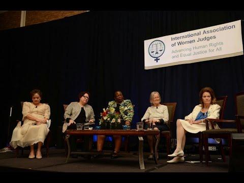Highton participó de la 13ª Conferencia Bienal de la Asociación Internacional de Mujeres Juezas