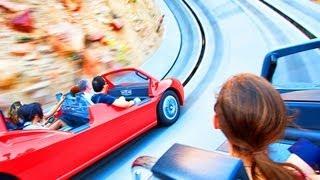 CARSLAND Radiator Springs Racers POV Disneyland Resort California Adventure