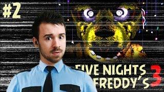 - Прохождение Five Nights At Freddy s 3 2 Ночь 3