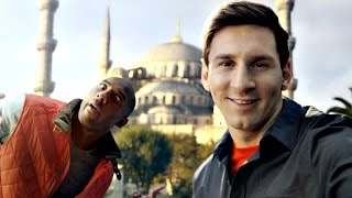 Lionel Messi Funny/Best Commercials EVER! 2005-2015