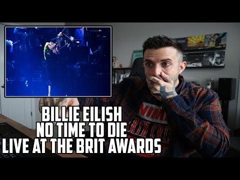 Billie Eilish - No Time To Die (Live at Brit Awards) - Reaction