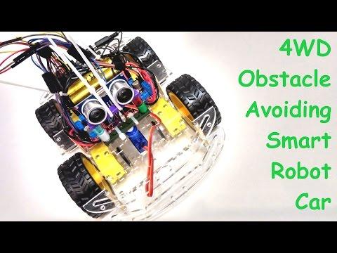 Ардуино  робот,  объезжающий препятствия - Ардуино робот #1
