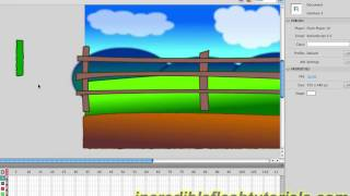 Adobe Flash Tutorial- How to Design a Cartoon Environment