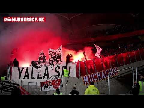 VfB Stuttgart - SC Freiburg // YALLA SC! (Choreo, Pyroshow und Stimmung)