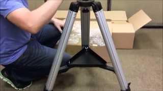 Průvodce teleskopy Levenhuk: montáž hvězdářského dalekohledu pro začátečníky