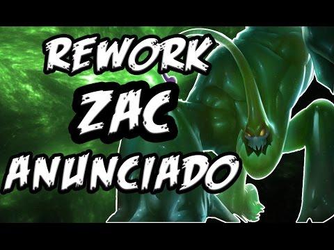 [REWORK ZAC] | CAMBIOS EN LA Q, W y R - Noticias League of Legends