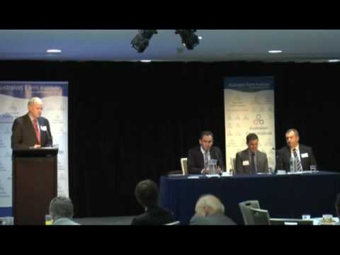 Panel Session   Investment in Australian Agriculture
