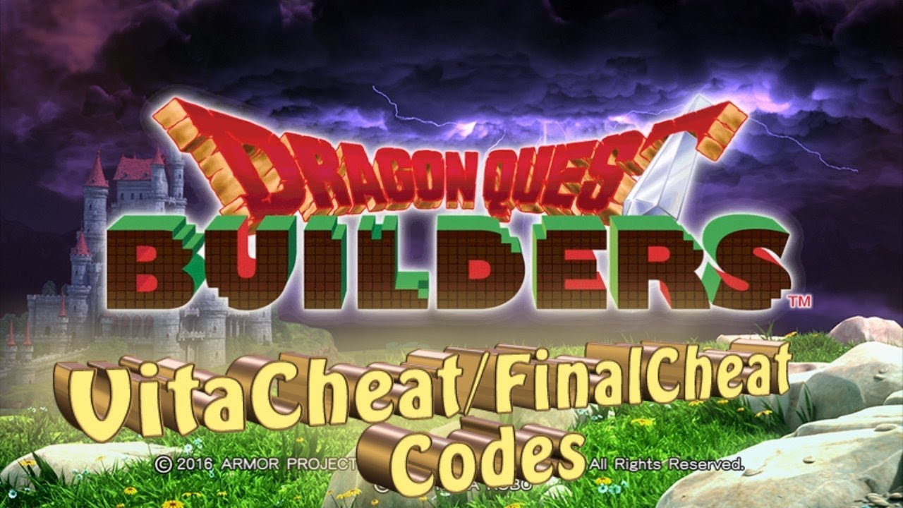 Dragon Quest Builders - Cheat Codes using VitaCheat/FinalCheat