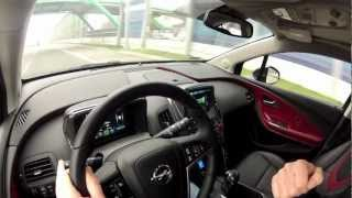 (ENG) Opel Vauxhall Ampera - test drive and review - Part 2