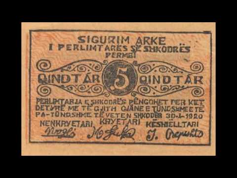 Currencies of the World: Principality of Albania; Albanian Lek (1920)