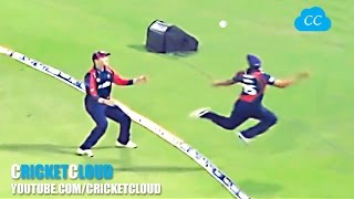 Best Catches in Cricket History! Best Acrobatic Catches! PART-2 (Please comment the best catch) thumbnail