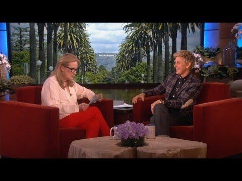 Meryl Streep Makes Everything Sound More Interesting