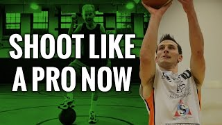 How to Shoot a Basketball Like A Pro With This Move