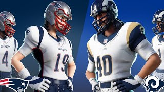 NEW Exclusive NFL Skins in fortnite Battle Royale