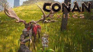 Conan Exiles Добудьте голову существа босса