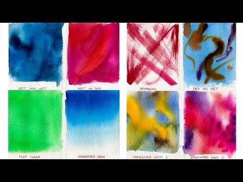 Watercolor Painting Lessons - Wash Techniques