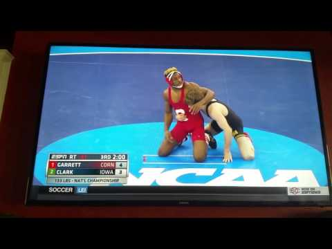 2016 NCAA Division I Wrestling Championship- 133 lbs- Garrett vs Clark