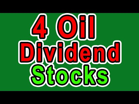 4 Dividend Stocks for this Oil Crash - My Bucket List of Ene