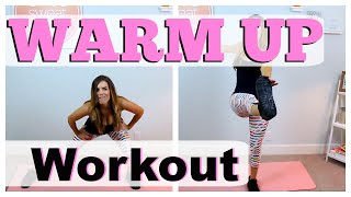 Full Body Warm Up Routine | Pre-Workout
