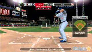 MLB 2K11 - MLB Today Sept. 15th, 2011 - Chicago Cubs at Cincinnati Reds - 7th Inning