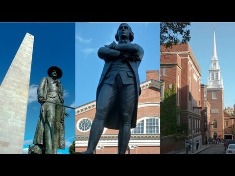 Freedom Trail Boston - Virtual Tour in 5 Minutes
