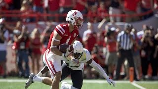 Highlights: No. 22 Oregon football drops close contest to Nebraska