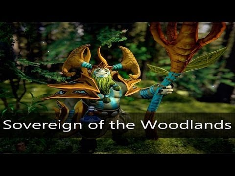 Dota 2: Store - Nature Prophet - Sovereign of the Woodlands w/ FGCL: CIS Open Cup