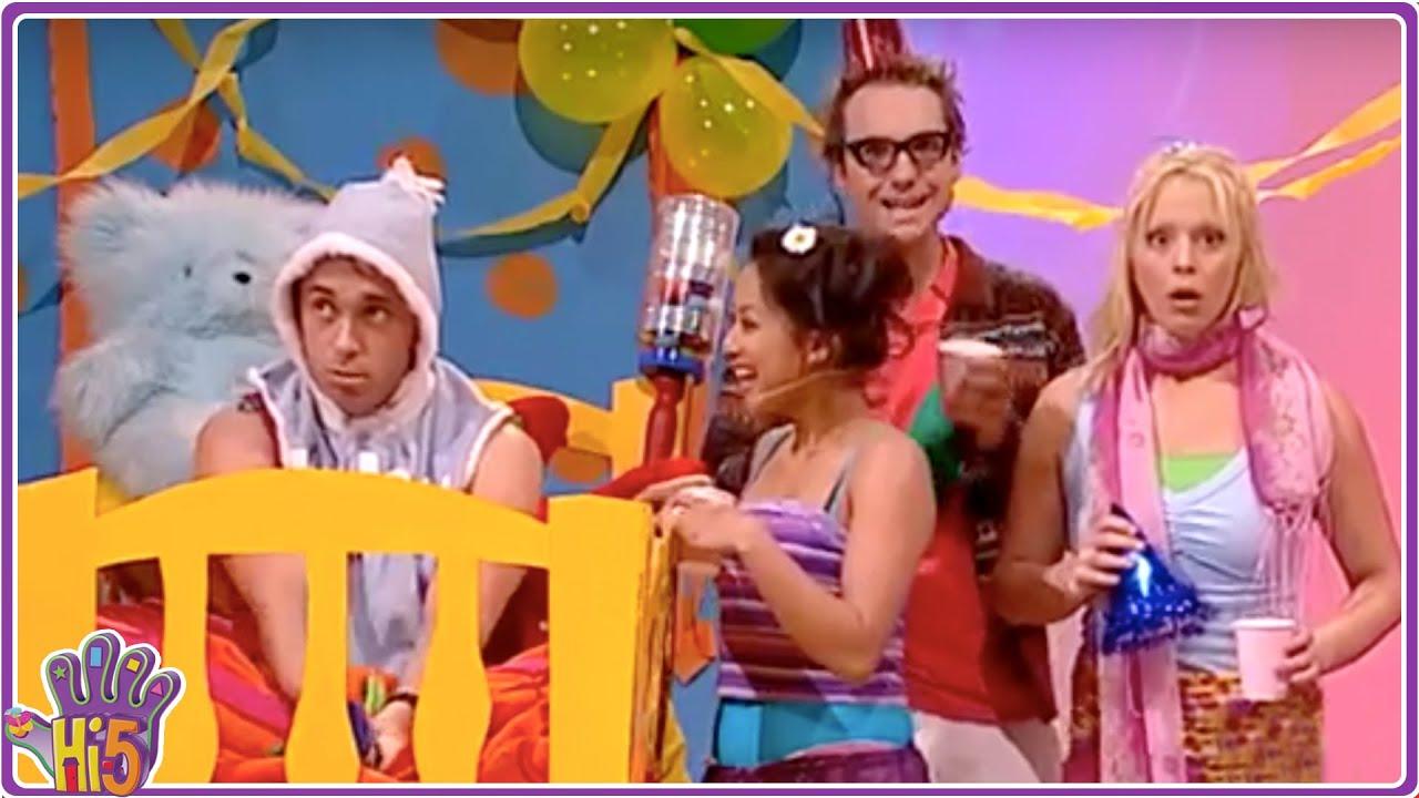 Family celebrations hi 5 season 5 episode 1 kid for Home party tube