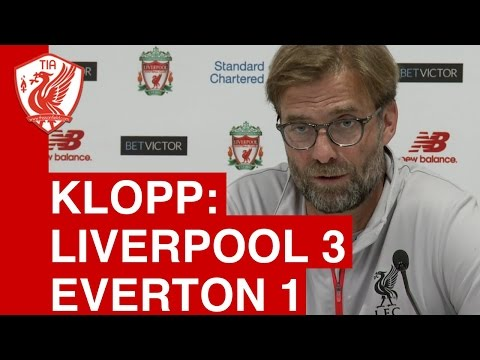 Liverpool 3-1 Everton: Jurgen Klopp's Post-Match Press Conference