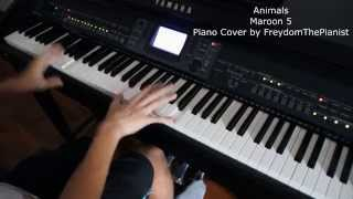Animals - Maroon 5 (Piano Cover/Free Sheet Music)