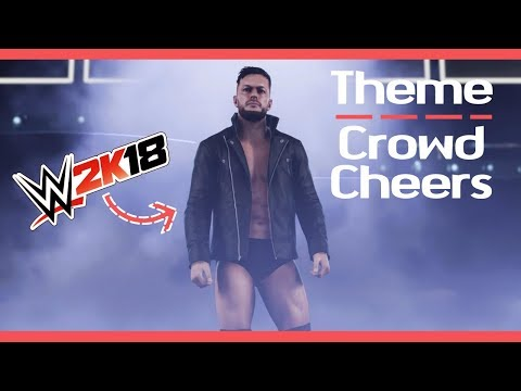 """WWE 2K18 - Finn Balor Theme Song (Crowd Cheers) - """"Catch Your Breath"""""""