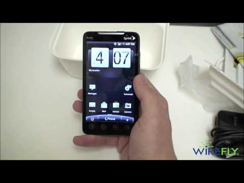 HTC EVO 4G (Sprint) - Unboxing