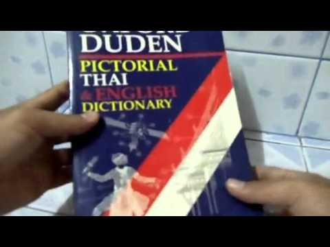 OXFORD DUDEN Pictorial THAI & ENGLISH Dictionary