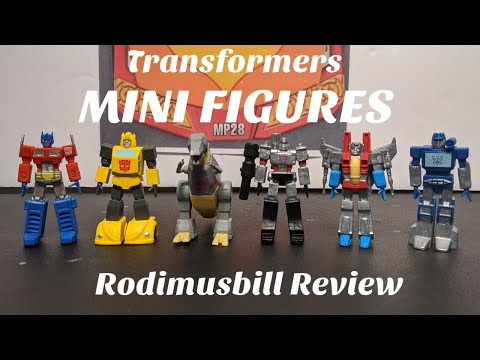 Transformers MINI FIGURINES - Set of 6 Limited Edition. (Found at Dollar Tree Stores)