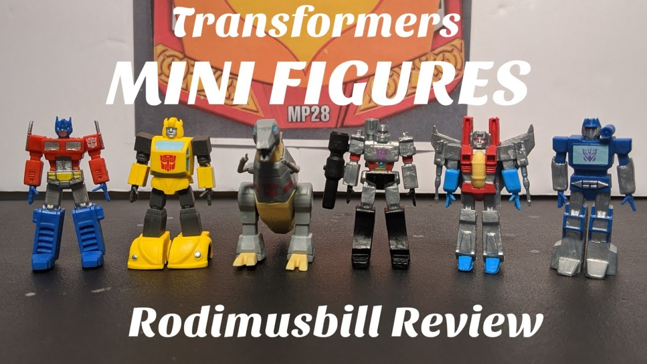 Transformers Dollar Tree Mini Figures Review by Rodimusbill