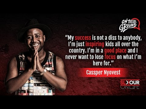 On The Ground: Cassper Nyovest On His New Leaf x Filling Up Orlando Stadium