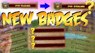 Wizard101: New Badges! OVERLORD?