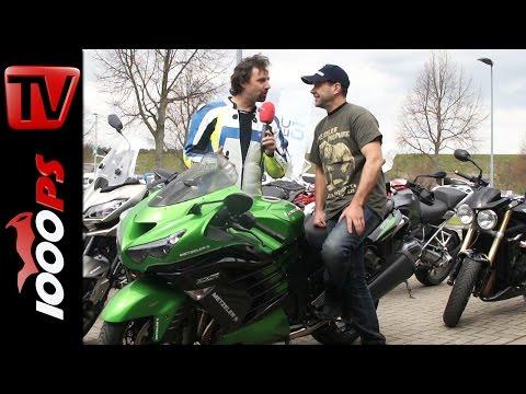 Isle of Man TT Rennfahrer im Interview - Horst Saiger spricht