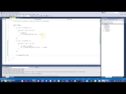 C# Concurrent Blocking Collection, ParallelForEach in 5 min