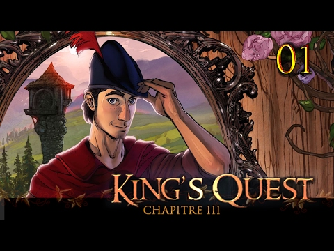 King's Quest Chapitre 3 - 01 - A la découverte de Graham-mère !