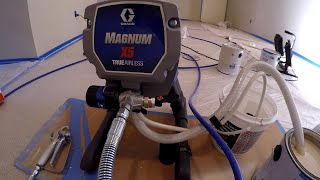 First Time Using Graco™ Airless Paint Sprayer | Part 1 - Detailed Set Up For Beginners
