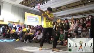 【DanceEvolution ARCADE  KAC2013】Follow Tomorrow ( MASTER )  FREE STYLE
