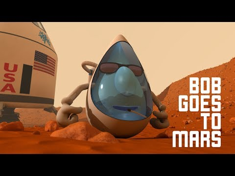 "Mt.Shasta Spring Water  ""Bob Goes To Mars"" v1"