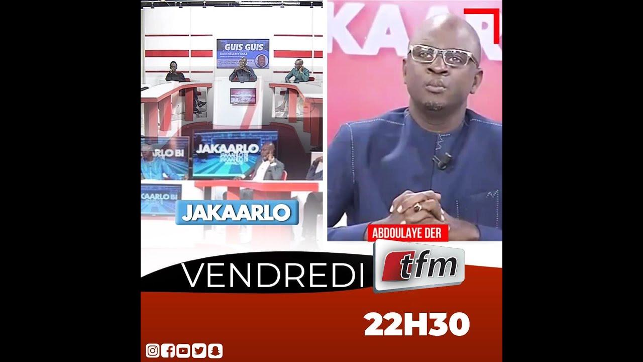 Download 🛑 Jakaarlo Bi du 23 Juillet 2021 avec Abdoulaye Der et sa Team