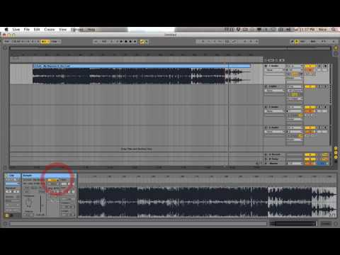 How to find the tempo of a song for remix in Ableton Live