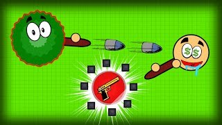 LURING PEOPLE WITH DESERT EAGLE BAIT!! Surviv.io Funny Bush Trolling & Best Weapon Trapping Guide!
